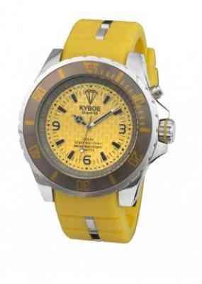 Желтые наручные часы Kyboe Marine series MS.006