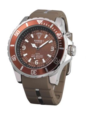 Наручные часы Kyboe коричневого цвета