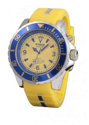Желтые часы Kyboe Marine series MS.001