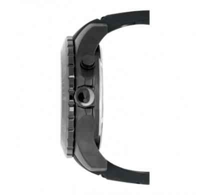 Черный стальной водонепроницаемый корпус часов
