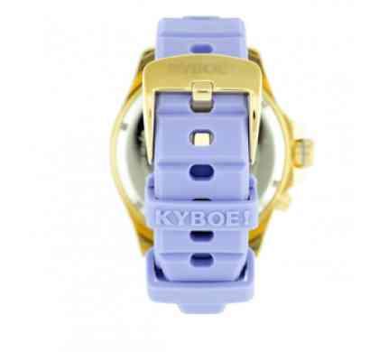 Часы фиолетовым ремешком
