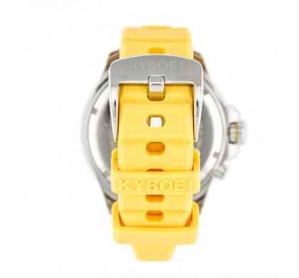 Желтый ремешок часов