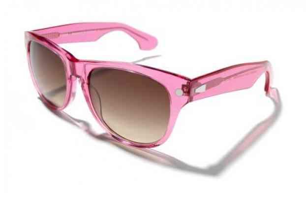 Солнцезащитные очки KYBOE morgan III cosmopolitan в розовой оправе