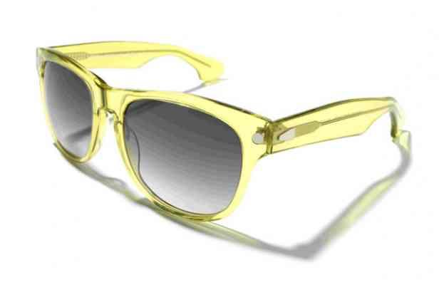 Солнцезащитные очки KYBOE morgan ||| mojito желтого цвета