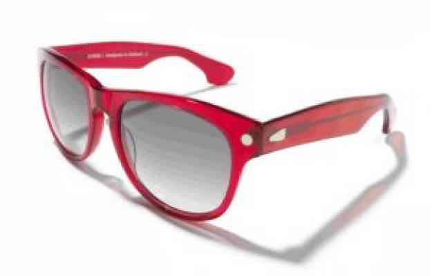 Солнцезащитные очки KYBOE morgan ||| americano красного цвета